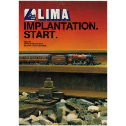 TRAIN LIMA - IMPLANTATION - START 1982/83 Librairie Automobile SPE LIMA