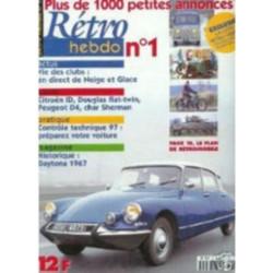 RETRO HEBDO CITROEN ID CONFORT 1964 N°1 Librairie Automobile SPE RETRO HEBDO N°1