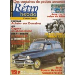 RETRO HEBDO VOLVO P 1880 ES N°2