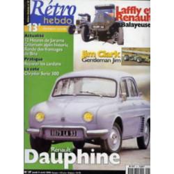 RETRO HEBDO RENAULT DAUPHINE N°57 Librairie Automobile SPE RETRO HEBDO N°57