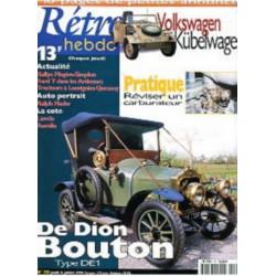 RETRO HEBDO DE DION BOUTON N°70