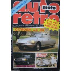 AUTO RETRO CITOREN DS N°29 Librairie Automobile SPE AUTO RETRO N°29
