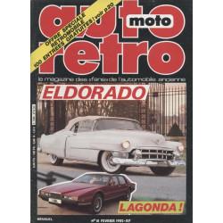 AUTO RETRO CADILLAC ELDORADO N°18 Librairie Automobile SPE AUTO RETRO N°18