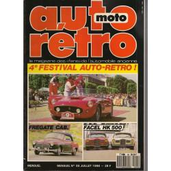 AUTO RETRO 4° FESTIVAL AUTO-RETO N°95 Librairie Automobile SPE AUTO RETRO N°95