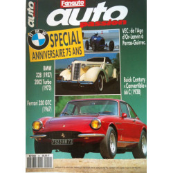 AUTO PASSION FERRARI 330 GTC / BMW 328 N°50 Librairie Automobile SPE AUTO PASSION N°50