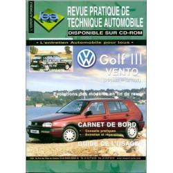 REVUE TECHNIQUE AUTOMOBILE GOLF II / JETTA DE 84 à 91 Ess et D Librairie Automobile SPE 3176420611892