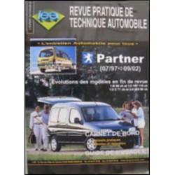 REVUE TECHNIQUE AUTOMOBILE PEUGEOT PARTNER DE 1997 à 2002 Librairie Automobile SPE 3176420205978