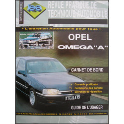 REVUE TECHNIQUE AUTOMOBILE OPEL OMEGA A Librairie Automobile SPE 3176420812893