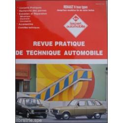 REVUE TECHNIQUE AUTOMOBILE RENAULT 6 Librairie Automobile SPE 3176420310733
