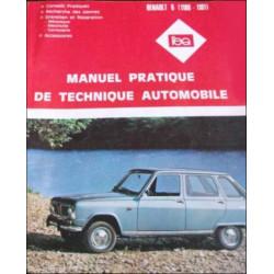 REVUE TECHNIQUE AUTOMOBILE RENAULT 6 L R1180 Librairie Automobile SPE 3176420304695