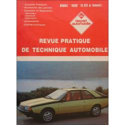 REVUE TECHNIQUE AUTOMOBILE RENAULT FUEGO TX-GTX / AUTOMATIC Librairie Automobile SPE 3176420309829