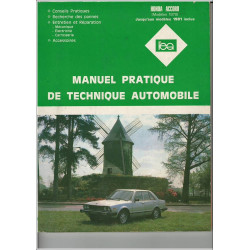 REVUE TECHNIQUE AUTOMOBILE HONDA ACCORD de 1979 Librairie Automobile SPE 3176420505818