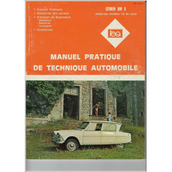 REVUE TECHNIQUE AUTOMOBILE CITROEN AMI 6 Librairie Automobile SPE 3176420111699