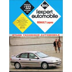 RENAULT LAGUNA - ETUDE TECHNIQUE AUTOMOBILE Librairie Automobile SPE EXPERT AUTO LAGUNA