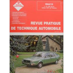 REVUE TECHNIQUE AUTOMOBILE RENAULT 20 L/TL/GTL Librairie Automobile SPE 3176420301779