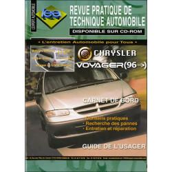 REVUE TECHNIQUE AUTOMOBILE CHRYSLER VOYAGEUR depuis 1996 Librairie Automobile SPE tap 380