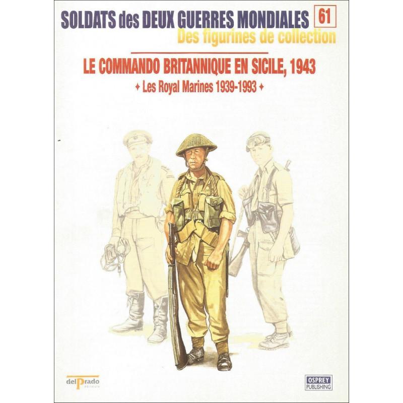 FIGURINES N°61 - LE COMMANDO BRITANIQUE EN SICILE 1943 Librairie Automobile SPE OSPREY61