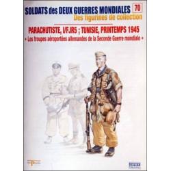 FIGURINES N°70 - PARACHUTISTE, I/FJR5 TUNISIE PRINTEMPS 1945 Librairie Automobile SPE OSPREY70