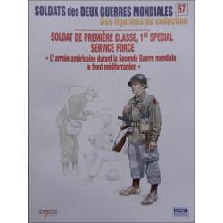 FIGURINES 57 - SOLDAT DE PREMIERE CLASSE 1er SPECIAL SERVICE FORCE Librairie Automobile SPE OSPREY57