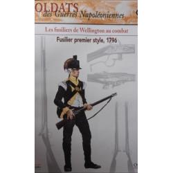 LES FUSILIERS DE WELLINGTON AU COMBAT - FASCICULE SOLDATS N°99 Librairie Automobile SPE SOLDAT99