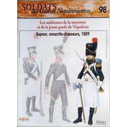 LES UNIFORMES DE LA MOYENNE ET DE LA JEUNE GARDE - FASCICULE SOLDATS N°98 Librairie Automobile SPE SOLDAT98