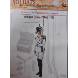 L'INFANTERIE DE NAPOLEON EN CAMPAGNE - FASCICULE SOLDATS N°94 Librairie Automobile SPE SOLDAT94