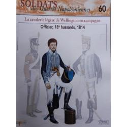 LA CAVALERIE LEGERE DE WELLINGTON EN CAMPAGNE - FASCICULE SOLDATS N°60 Librairie Automobile SPE SOLDAT60