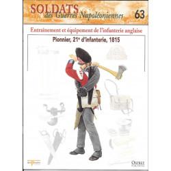 ENTRAINEMENT ET EQUIPEMENT DE L'INFANTERIE ANGLAISE - FASCICULE SOLDATS N°63 Librairie Automobile SPE SOLDAT63