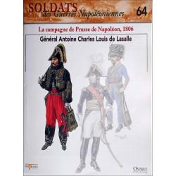 LA CAMPAGNE DE PRUSSE DE NAPOLEON 1806 - FASCICULE SOLDATS N°64 Librairie Automobile SPE SOLDAT64
