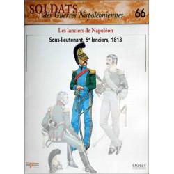 LES LANCIERS DE NAPOLEON - FASCICULE SOLDATS N°66 Librairie Automobile SPE SOLDAT66