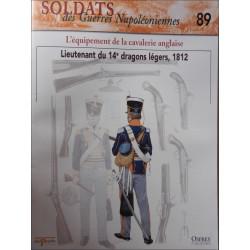 L'EQUIPEMENT DE LA CAVALERIE ANGLAISE - FASCICULE SOLDATS N°89 Librairie Automobile SPE SOLDAT89