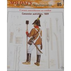 L'ARMEE AUTRICHIENNE AU COMBAT - FASCICULE SOLDATS N°85 Librairie Automobile SPE SOLDAT85