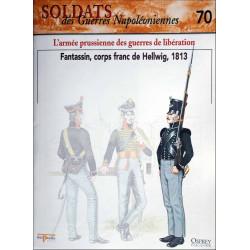 L'ARMEE PRUSSIENNE DES GUERRES DE LIBERATION - FASCICULE SOLDATS N°70 Librairie Automobile SPE SOLDAT70