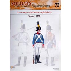 LES TROUPES AUTRICHIENNES SPECIALISEES - FASCICULE SOLDATS N°72 Librairie Automobile SPE SOLDAT72