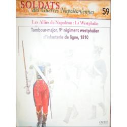 LES ALLIES DE NAPOLEON : LA WESTPHALIE - FASCICULE SOLDATS N°59 Librairie Automobile SPE SOLDAT59