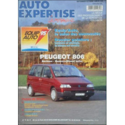 AUTO EXPERTISE CARROSSERIE PEUGEOT 806 N°175 Librairie Automobile SPE 3189470112653