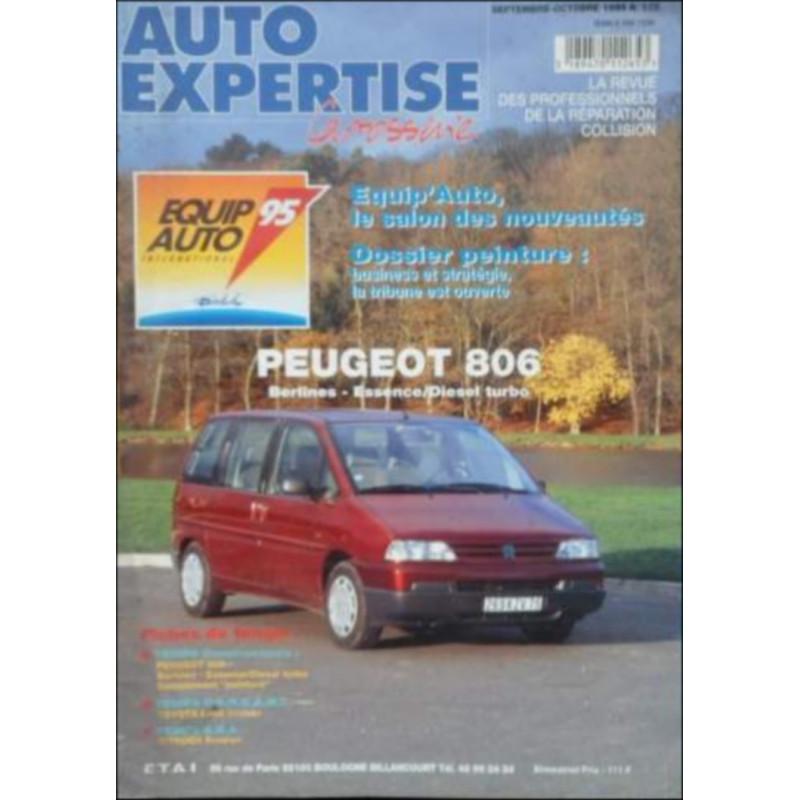 AUTO EXPERTISE CARROSSERIE PEUGEOT 806 N°175 Librairie Automobile SPE 3189470112653