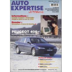AUTO EXPERTISE CARROSSERIE PEUGEOT 406 N°178 Librairie Automobile SPE 3189470123710