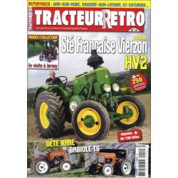 TRACTEUR RETRO N°15 - ESSAI STE FRANCAISE VIERZON HV2 Librairie Automobile SPE RETRO15