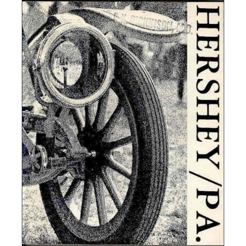 HERSHEY / P.A - THE WORLD'S LARGEST ANTIQUE AUTO SHOW Librairie Automobile SPE HERSHEY