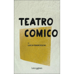 TEATRO COMICO de Luca Franceschi Librairie Automobile SPE 9782369442189