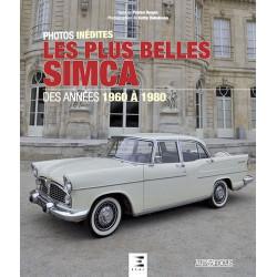 LES PLUS BELLES SIMCA, DES ANNEES 1960 A 1980 Librairie Automobile SPE 9791028301583
