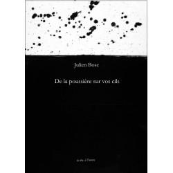 De la poussière sur vos cils De Julien BOSC Edition La tête à l'envers Librairie Automobile SPE 9791092858105