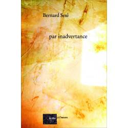 par inadvertance De SESE BERNARD Edition La tête à l'envers Librairie Automobile SPE 9782954217895