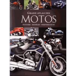 Grand atlas des motos - Histoire, modèles, performances Librairie Automobile SPE 9791029501883