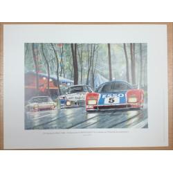 Reproduction - 24 heures du Mans 1980 - WM PEUGEOT, Daniel PICOT