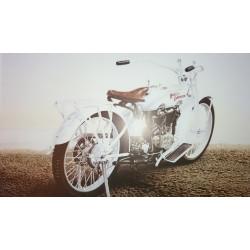 Reproduction - Moto STEEL ALIVE, François BRUERE Librairie Automobile SPE bruereSTTEL