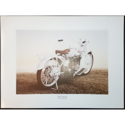 Reproduction - Moto STEEL ALIVE, François BRUERE