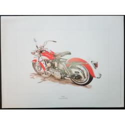 Reproduction - Moto DUO, François BRUERE Librairie Automobile SPE bruereDUO