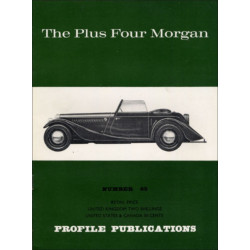 THE PLUS FOUR MORGAN - PROFILE PUBLICATIONS N°65 Librairie Automobile SPE PP065